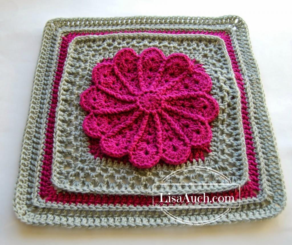 All American Crochet Afghan Pattern Free : 2015 American Crochet Afghan Crochet~Along: Square #3 ...