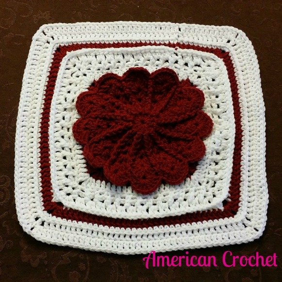 2015 American Crochet Afghan Crochet~Along: Square #3 ...