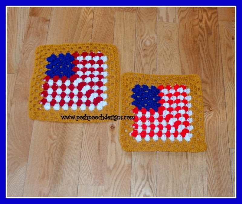 All American Crochet Afghan Pattern Free : The 2015 American Crochet Afghan Crochet~Along: Square #13 ...